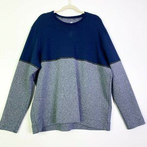 Adidas Mens Colorblock Pullover Sweatshirt 2XL NEW